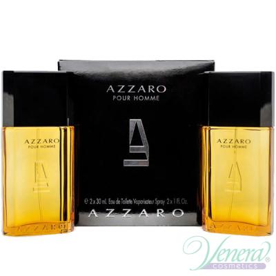 Azzaro Pour Homme Комплект (EDT 30ml + EDT 30ml) за Мъже Мъжки Комплекти