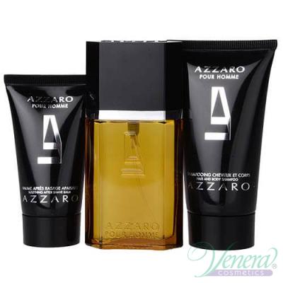 Azzaro Pour Homme Комплект (EDT 30ml + AS Balm 30ml + SG 50ml) за Мъже За Мъже
