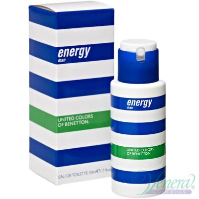 Benetton Energy EDT 50ml за Мъже Мъжки Парфюми