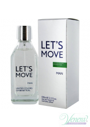 Benetton Let's Move EDT 40ml για άνδρες Ανδρικά Αρώματα