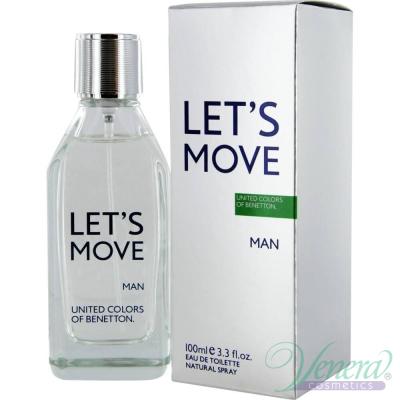 Benetton Let's Move EDT 100ml за Мъже Мъжки Парфюми