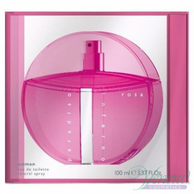 Benetton Paradiso Inferno Rosa (Pink) EDT 100ml за Жени Дамски Парфюми