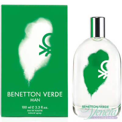 Benetton Verde Man EDT 100ml за Мъже Мъжки Парфюми