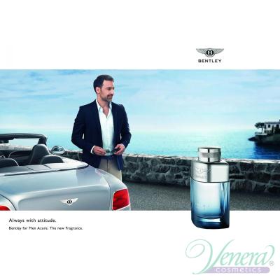 Bentley Bentley for Men Azure EDT 100ml за Мъже БЕЗ ОПАКОВКА Мъжки Парфюми без опаковка