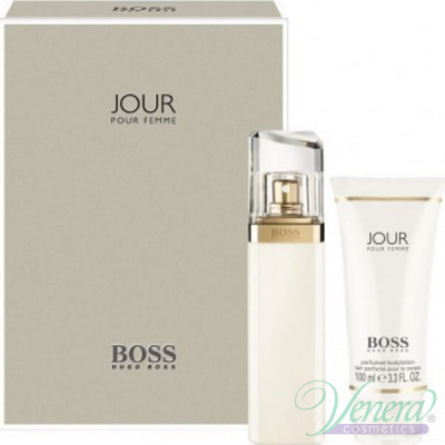 Boss Jour Pour Femme Комплект (EDP 75ml + Body Lotion 100ml) за Жени