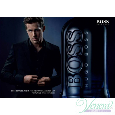 Boss Bottled Night Set (EDT 50ml + Deo Stick 75ml) for Men Sets