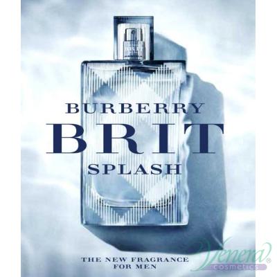 Burberry Brit Splash EDT 50ml за Мъже Мъжки Парфюми