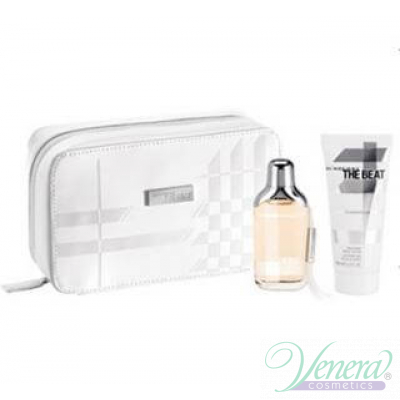 Burberry The Beat Комплект (EDT 75ml + BL 50ml + Bag) за Жени За Жени