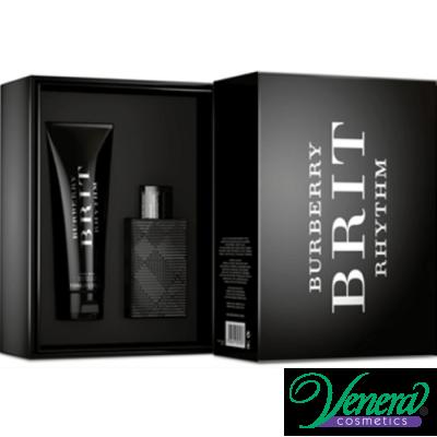 Burberry Brit Rhythm Комплект (EDT 50ml + Shower Gel 100ml) за Мъже За Мъже