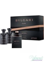 Bvlgari Man In Black Set (EDP 60ml + AS Balm 40ml + SG 40ml) για άνδρες Αρσενικά Σετ
