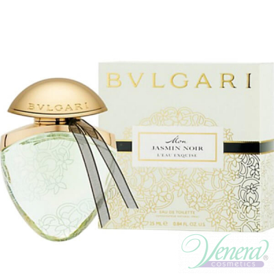 Bvlgari Mon Jasmin Noir L'Eau Exquise Jewel Charms EDT 25ml за Жени Дамски Парфюми