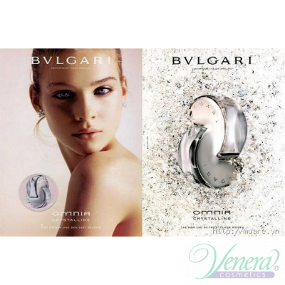 Bvlgari Omnia Crystalline Комплект (EDT 65ml + BL 75ml + SG 75ml + Bag) за Жени Дамски Комплекти