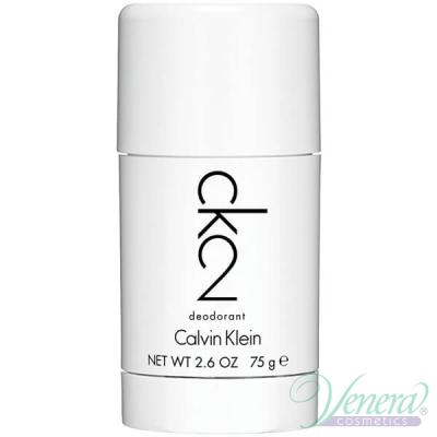 Calvin Klein CK2 Deo Stick 75ml за Мъже и Жени Мъжки и Дамски продукти за лице и тяло