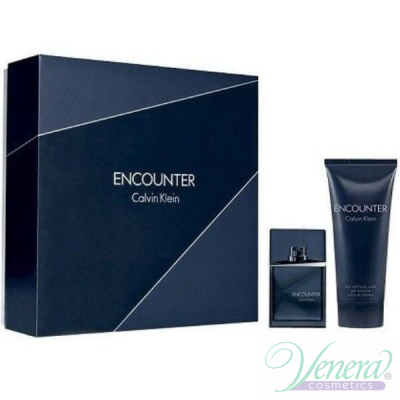 Calvin Klein Encounter Set (EDT 30ml + Shower Gel 100ml) за Мъже За Мъже