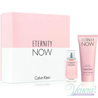 Calvin Klein Eternity Now Комплект (EDP 30ml + BL 100ml) за Жени