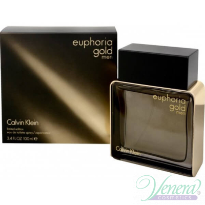 Calvin Klein Euphoria Gold Men EDT 100ml за Мъже