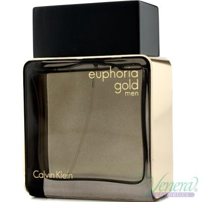 Calvin Klein Euphoria Gold Men EDT 100ml за Мъже БЕЗ ОПАКОВКА
