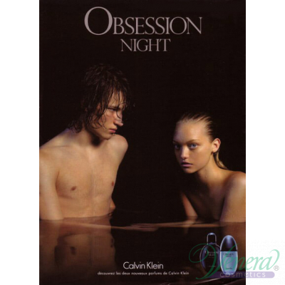 Calvin Klein Obsession Night EDT 125ml за Мъже Мъжки Парфюми