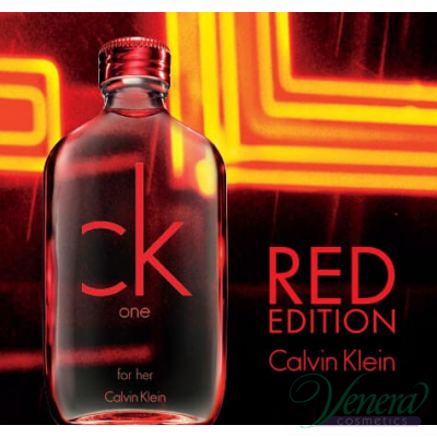 Calvin Klein CK One Red Edition EDT 100ml за Жени БЕЗ ОПАКОВКА За Жени