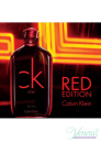 Calvin Klein CK One Red Edition EDT 50ml за Мъже За Мъже