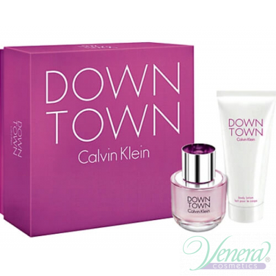Calvin Klein Downtown Комплект (EDP 50ml + Body Lotion 100ml) за Жени За Жени