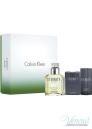 Calvin Klein Eternity Комплект (EDT 100ml + AS Balm 100ml + Deo Stick 75ml) за Мъже