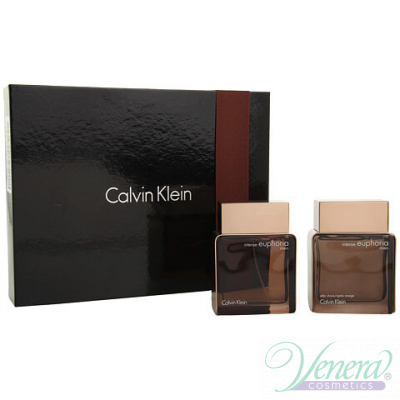 Calvin Klein Euphoria Комплект (EDT 100ml + After Shave 100ml) за Мъже