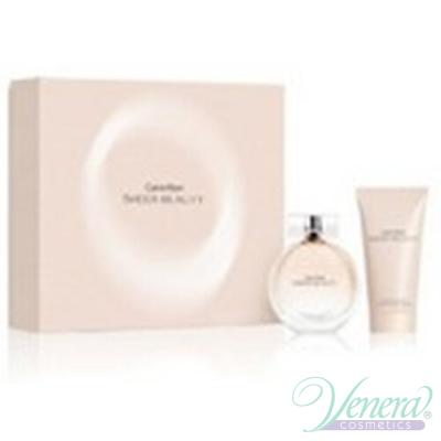 Calvin Klein Sheer Beauty Комплект (EDT 50ml + Body Lotion 100ml) за Жени За Жени