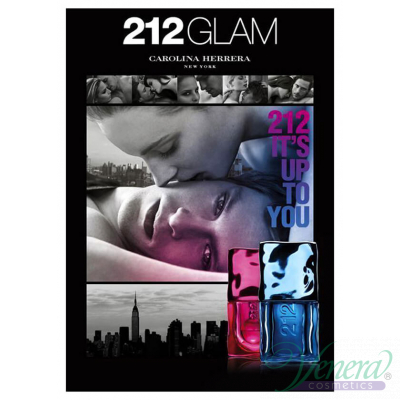Carolina Herrera 212 Glam 2012 EDT 60ml for Women Without Package Products without package