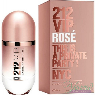 Carolina Herrera 212 VIP Rose EDP 80ml за Жени