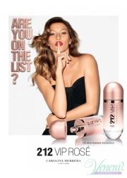 Carolina Herrera 212 VIP Rose EDP 80ml για γυναίκες ασυσκεύαστo Products without package