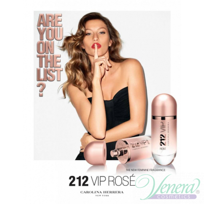 Carolina Herrera 212 VIP Rose EDP 50ml за Жени