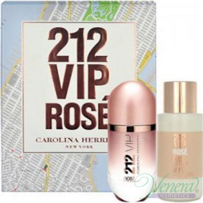 Carolina Herrera 212 VIP Rose Комплект (EDP 80ml+ BL 200ml) за Жени