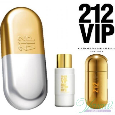 Carolina Herrera 212 VIP Комплект (EDP 50ml + Body Lotion 100ml) за Жени