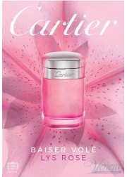 Cartier Baiser Vole Lys Rose EDT 50ml for Women Women's Fragrance