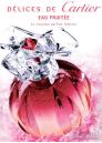Cartier Delices Eau Fruitee EDT 100ml за Жени БЕЗ ОПАКОВКА