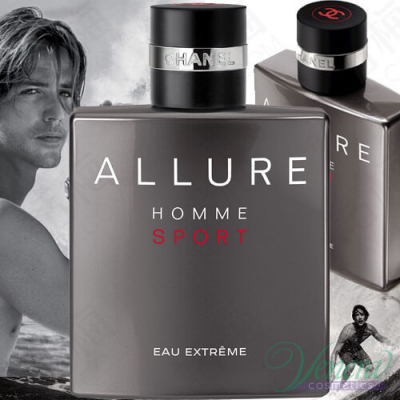 Chanel Allure Homme Sport Eau Extreme EDP 100ml pentru Bărbați fără de ambalaj AROME PENTRU BĂRBAȚI