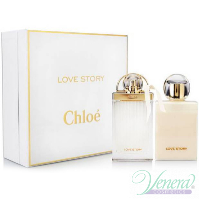 Chloe Love Story Комплект (EDP 50ml + Body Lotion 100ml) за Жени За Жени