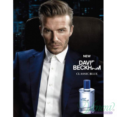 David Beckham Classic Blue EDT 40ml за Мъже Мъжки Парфюми