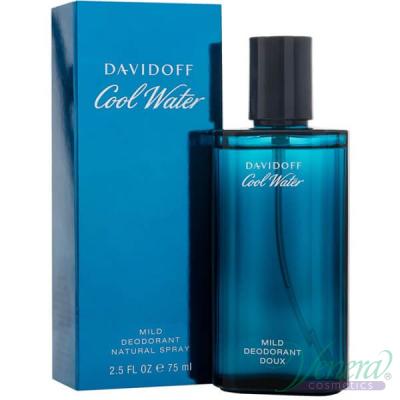 Davidoff Cool Water Deo Spray 75ml за Мъже Мъжки продукти за лице и тяло