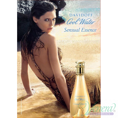 Davidoff Cool Water Sensual Essence EDP 100ml за Жени БЕЗ ОПАКОВКА За Жени