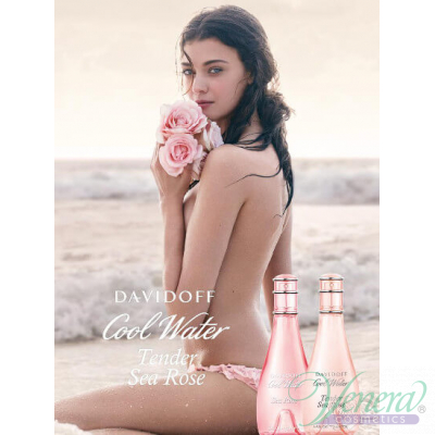 Davidoff Cool Water Tender Sea Rose EDT 100ml за Жени Дамски Парфюми