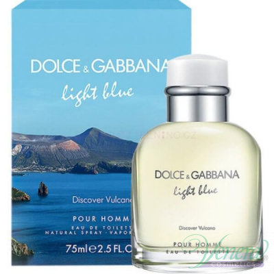 D&G Light Blue Discover Vulcano EDT 75ml за Мъже За Мъже