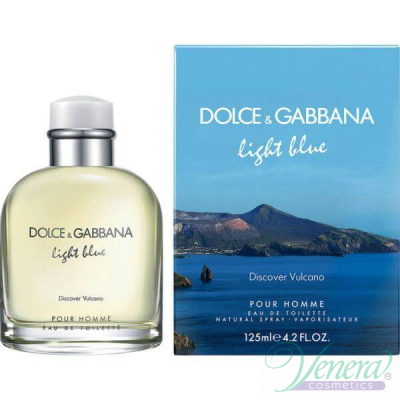 D&G Light Blue Discover Vulcano EDT 125ml за Мъже За Мъже