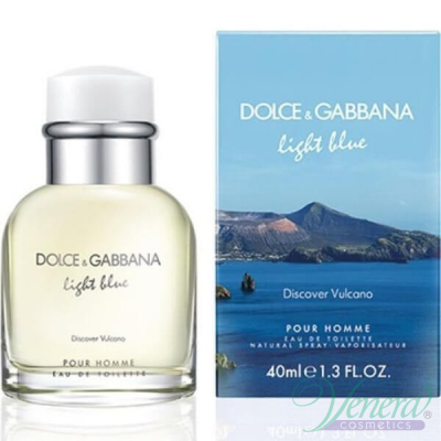 Dolce&Gabbana Light Blue Discover Vulcano EDT 40ml за Мъже