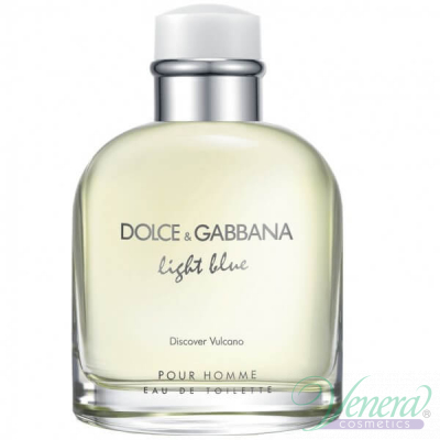 Dolce&Gabbana Light Blue Discover Vulcano EDT 125ml за Мъже БЕЗ ОПАКОВКА