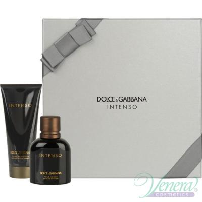 Dolce&Gabbana Pour Homme Intenso Комплект (EDP 75ml + AS Balm 100ml) за Мъже Мъжки Парфюми