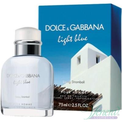 D&G Light Blue Living Stromboli EDT 125ml за Мъже Мъжки Парфюми