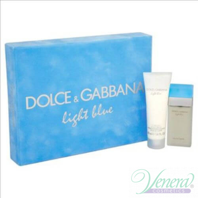 Dolce&Gabbana Light Blue Комплект (EDT 25ml + Body Cream 50ml) за Жени
