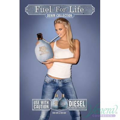 Diesel Fuel For Life Denim Collection EDT 75ml за Жени БЕЗ ОПАКОВКА За Жени